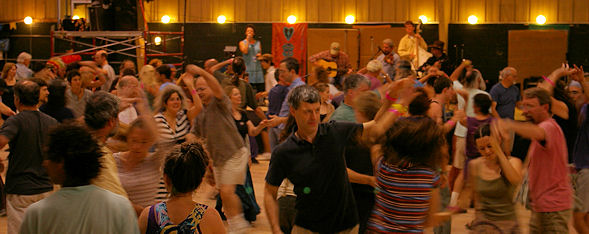 Contra Dancing in Asheville