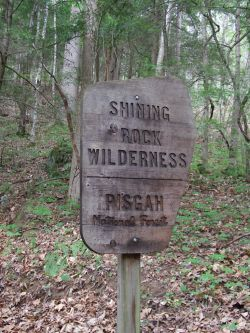 Shining Rock Wilderness Area
