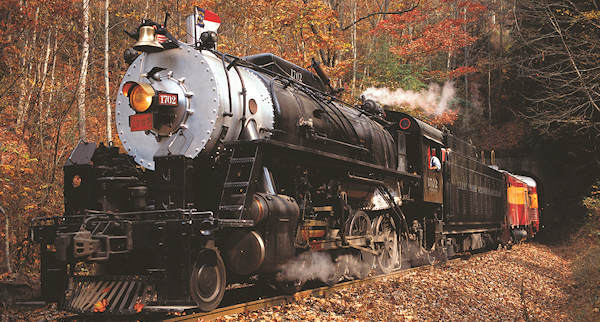 Great Smoky Mountains Railroad Steam Engine