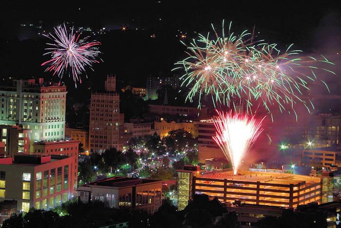 Asheville 4th of July Fireworks
