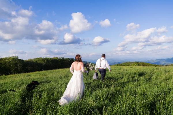 Outdoor Mountain Wedding Asheville