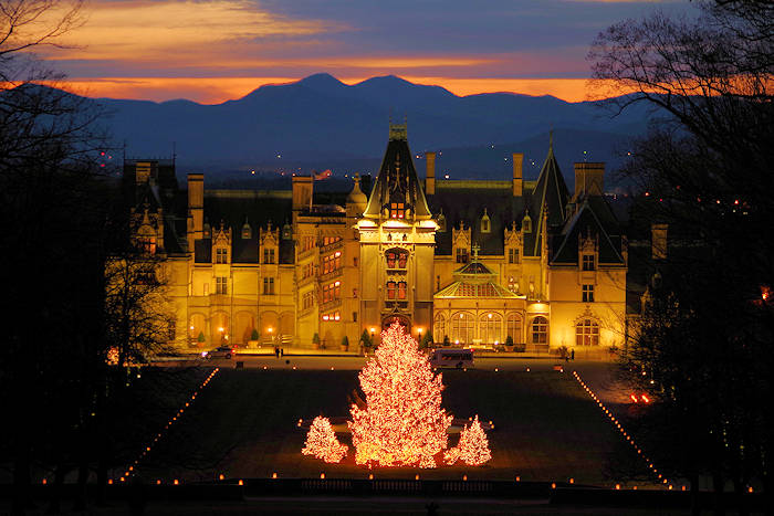 Biltmore House at Christmas
