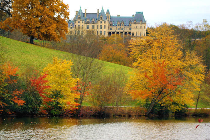 Biltmore House Fall Color