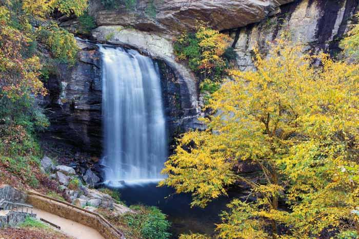 Waterfalls near Asheville