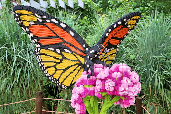 Lego Sculptures NC Arboretum