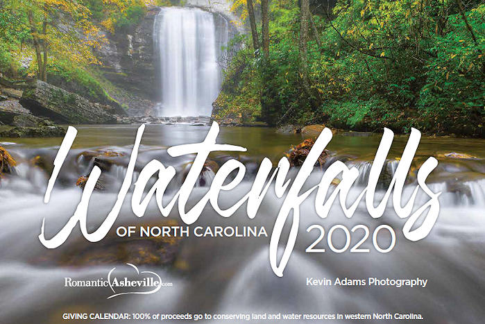 Best Of Wnc 2020 North Carolina Waterfalls Calendar 2020