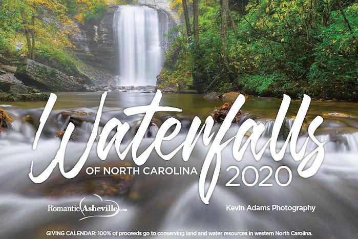 NC Waterfalls Calendar 2020