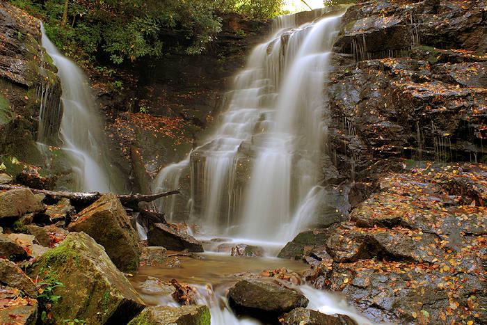 NC Waterfalls Fall Color