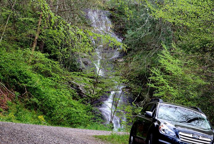 Roadside Waterfall near Asheville