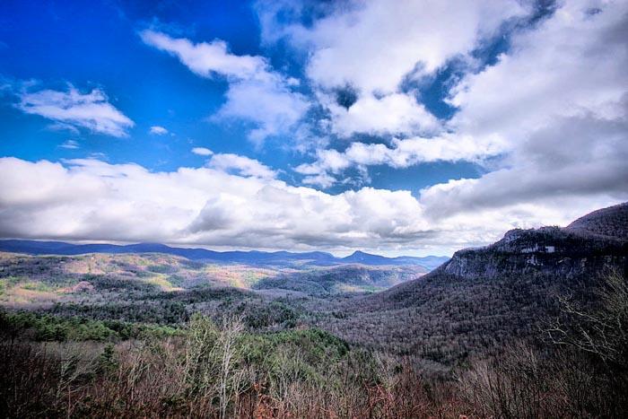 Whiteside Mountain Jackson County
