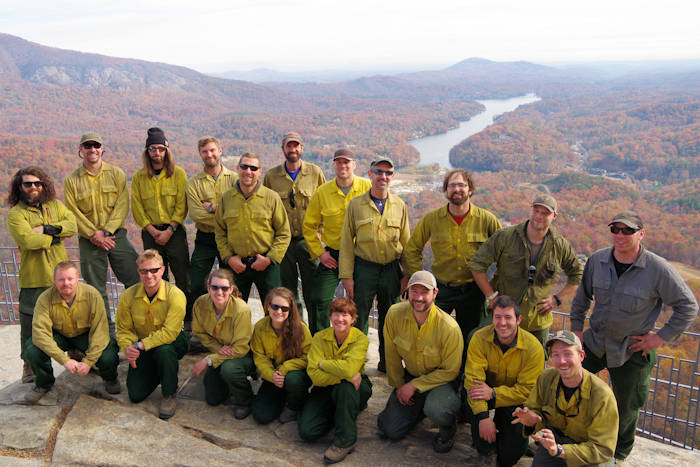 NC Mountain Wildfires - Alaska R10 Hand Crew
