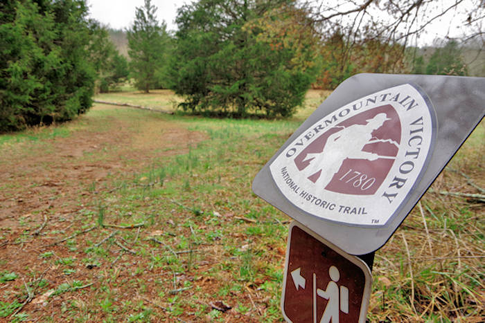 Overmountain Victory Trail, Alexanders Ford