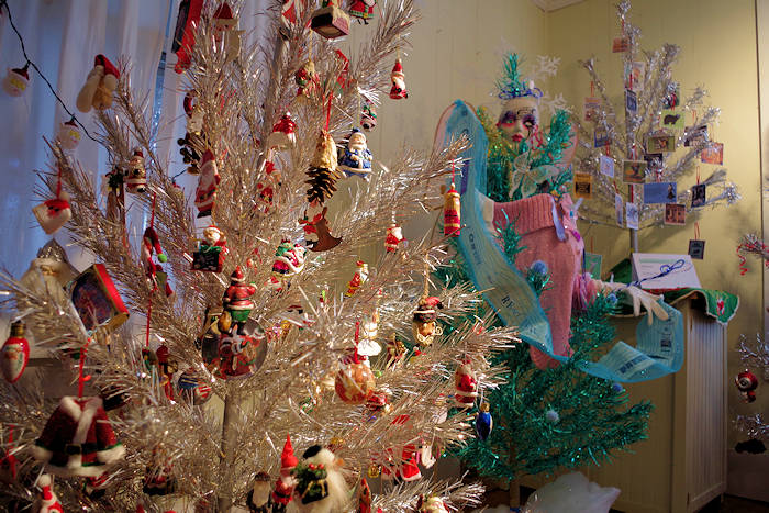 Aluminum Christmas Tree And Ornament Museum Brevard