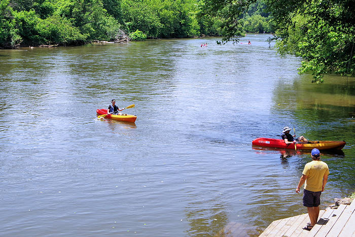 Asheville Outdoor Center, French Broad River