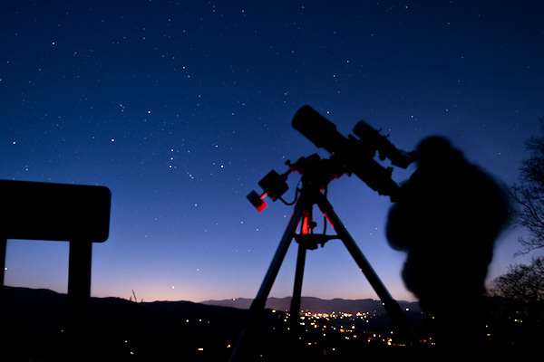 Astronomy Club & Asheville Stargazing