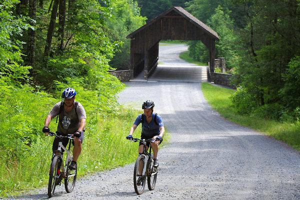 Biking Asheville