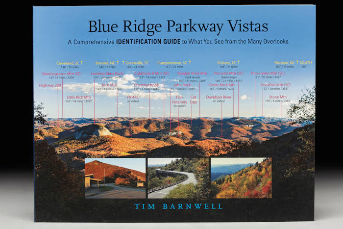 Blue Ridge Parkway Vistas Book