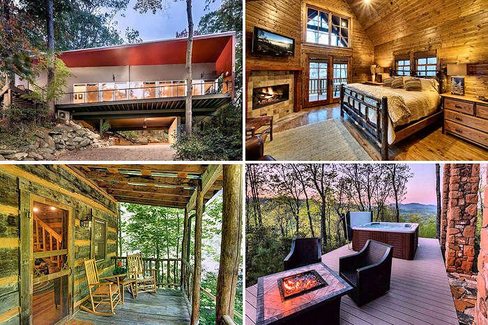 Asheville Cabin Rentals NC Mountains