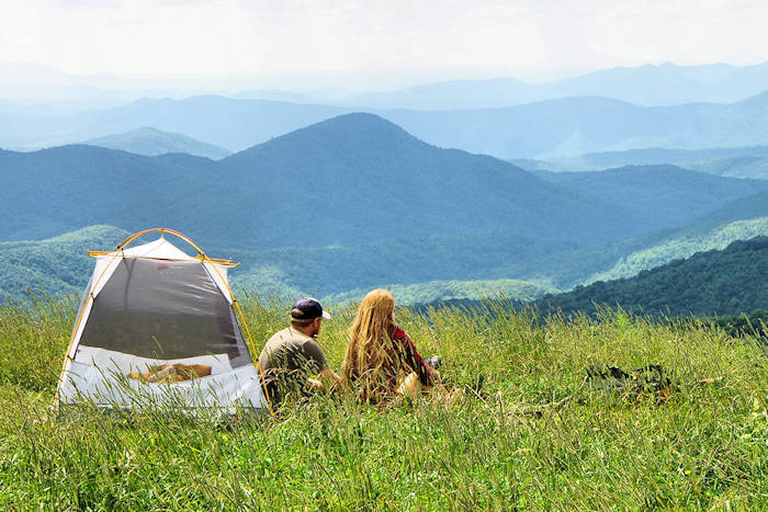 Camping in Great Smoky Mountains