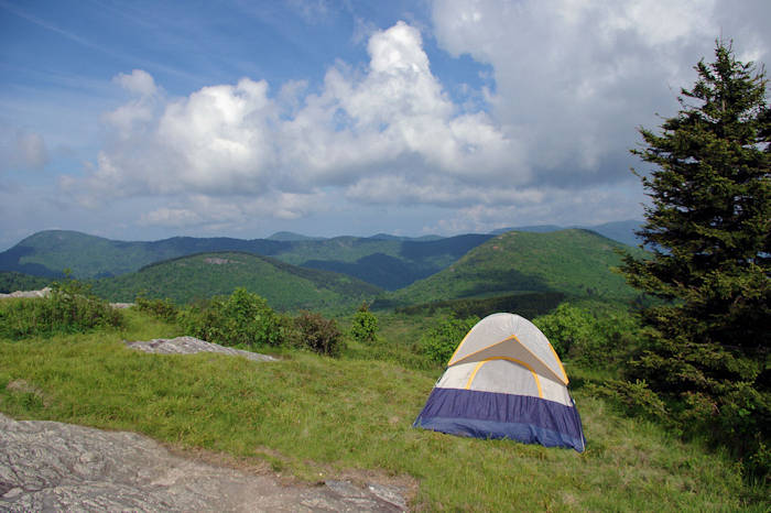 Camping in the NC Mountains