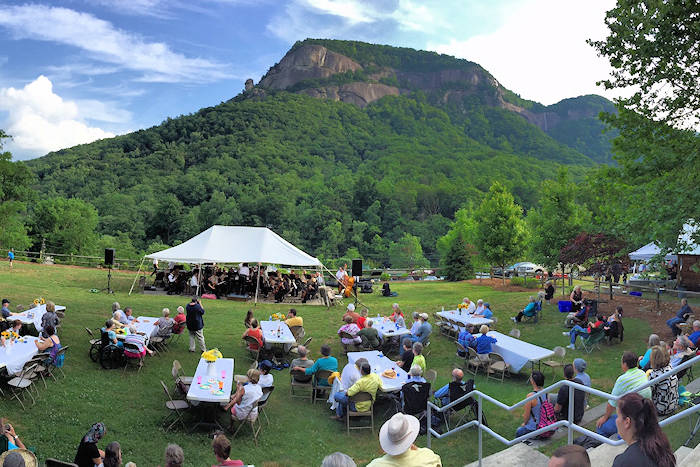 Chimney Rock Spring Go Festival