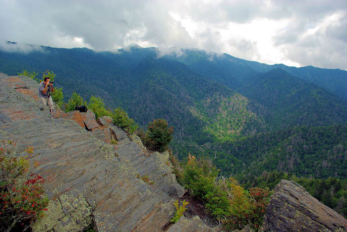 Chimney Tops Hike, Great Smoky
