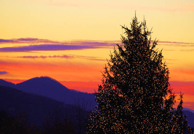 Christmas Day in Asheville