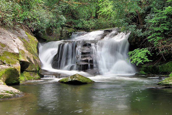 East Fork Falls, Headwaters State Forest, NC