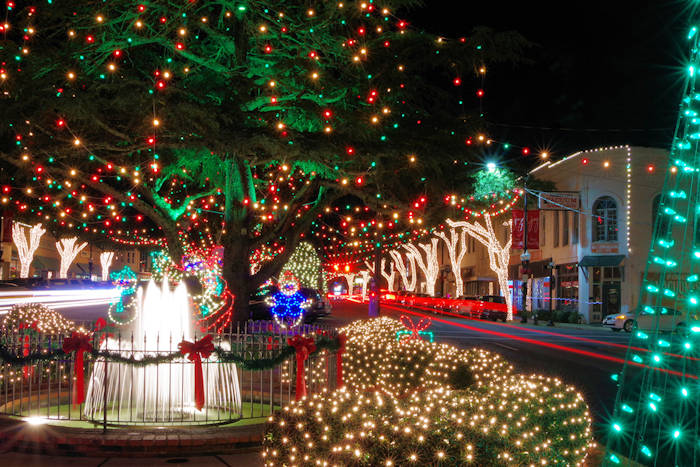 Christmas City.12 Christmas Towns Near Asheville 2018
