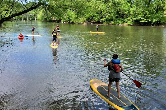 French Broad Outfitters Paddleboard