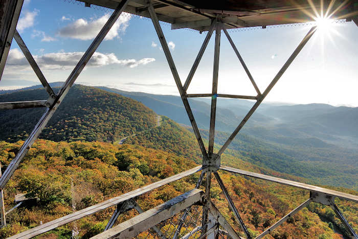 Fryingpan Mountain Lookout Tower, NC