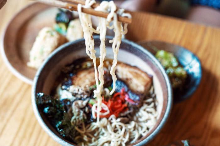 Ramen Noodle Shops Asheville
