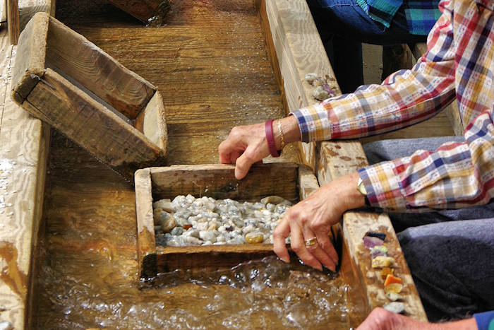 Gem Mining near Asheville, North Carolina