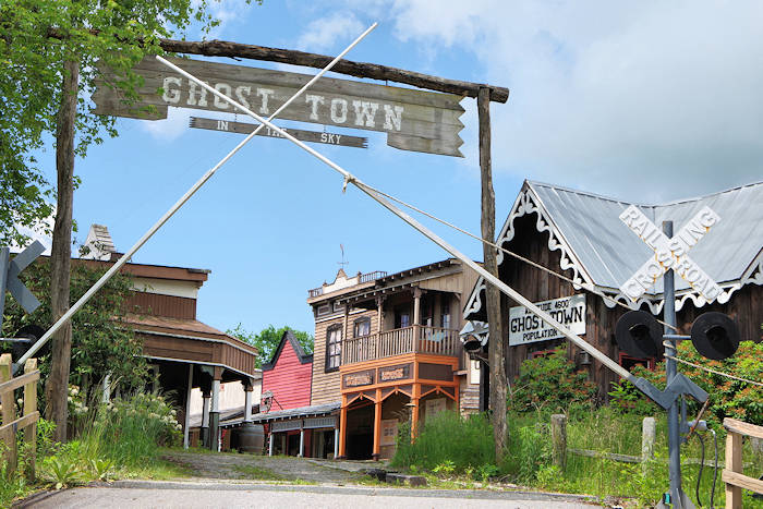 Ghost Town in the Sky Park, NC