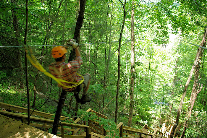 Great Smoky Mountains Zipline Tour