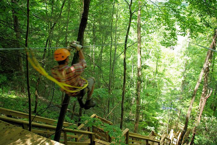 Great Smoky Mountains Zipline Tour