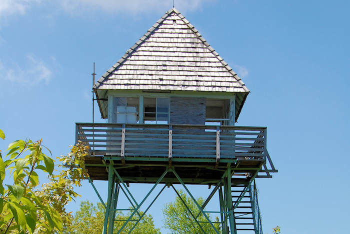 Green Knob Lookout Tower NC