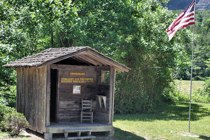 USA Smallest Post Office, Grimshawes