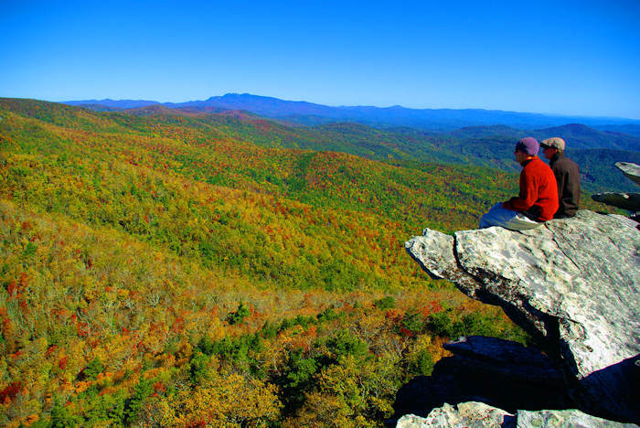 Hawksbill Mountain NC