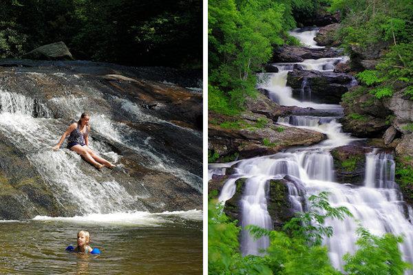 Frolictown Falls in Cashiers NC | Nc waterfalls, Waterfall