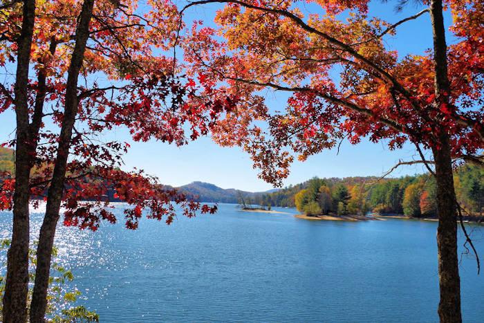 Jackson County NC Lake