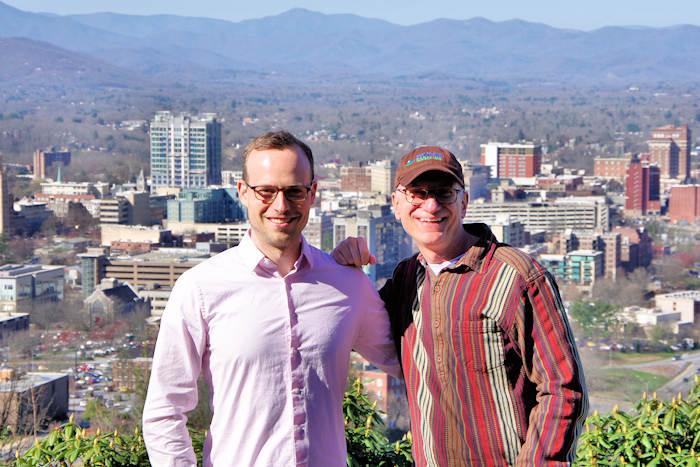 Justin Belleme and Mark File, Asheville