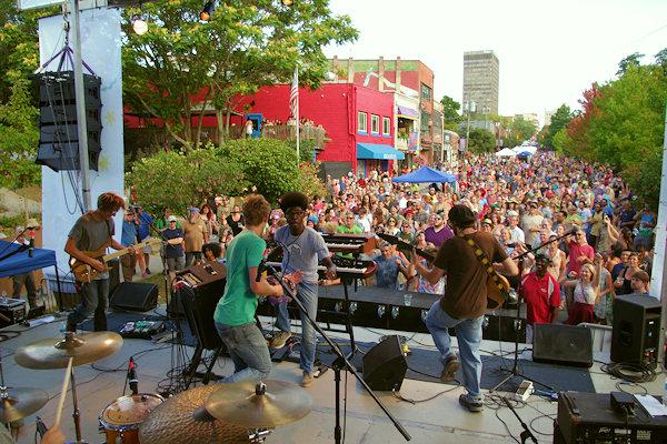 LAAFF Street Festival, Downtown Asheville