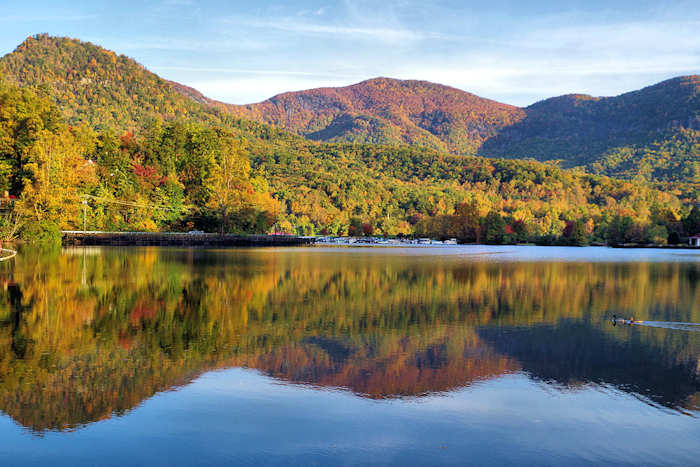Lake Lure Nc Map Lake Lure Travel Guide
