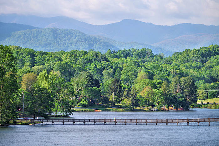 Lake Junaluska NC Trail