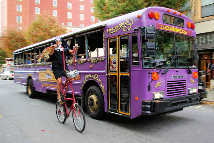 LaZoom Purple Bus Tours