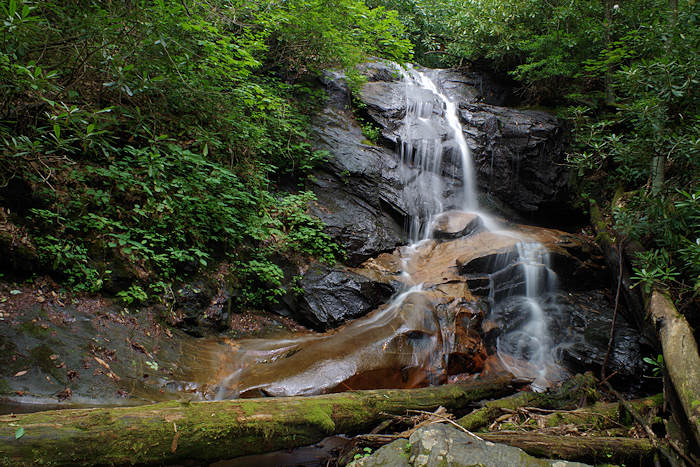 Log Hollow Falls NC