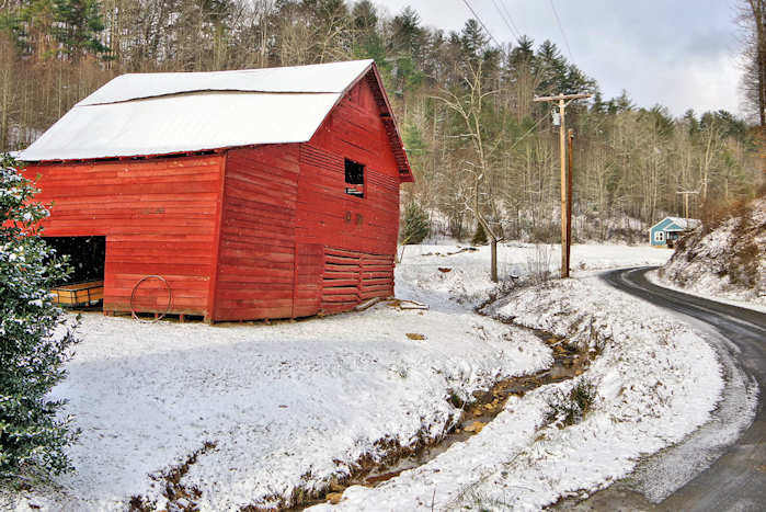 Historic Barns In Madison County