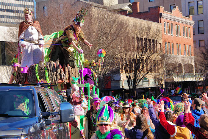 Holiday Parade, Downtown Asheville