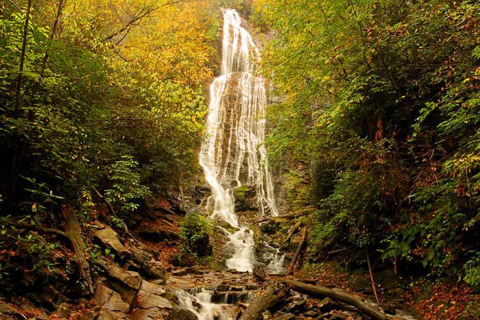 Mingo Falls, Cherokee